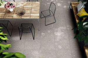 ARCHAIZE TILE SERIES(屋外テーブル・椅子・日陰風)
